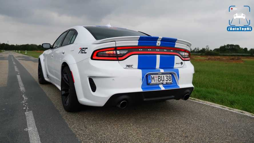 Dodge Charger Hellcat Hits The Autobahn For Trio Of High-Speed Runs