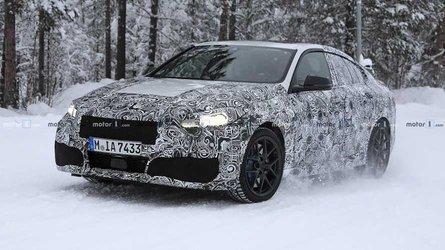 BMW Serie 2 GranCoupe, video spia sulla neve