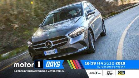 Mercedes ai Motor1Days 2019 tra Hot Lap, Test Drive e Off Road.
