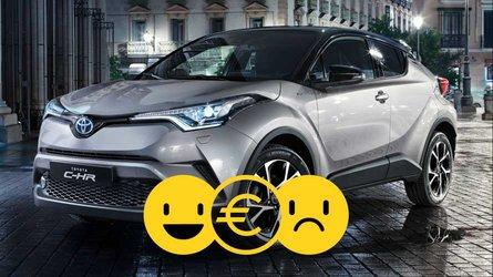 Promozione Toyota C-HR Hybrid, perché conviene e perché no
