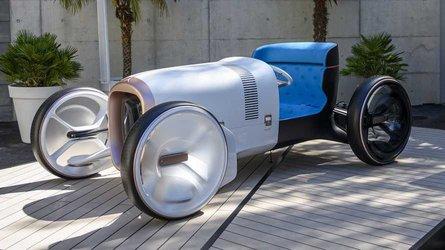 Mercedes, il futuro è in una concept elettrica dal gusto retrò