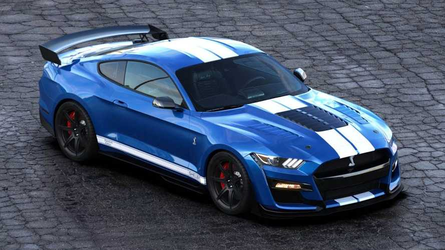 Mustang GT500 Gets 800-Plus HP With Shelby American Signature Edition