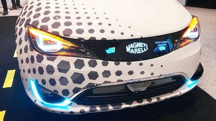 Detroit, i fari Magneti Marelli si evolvono per la guida autonoma