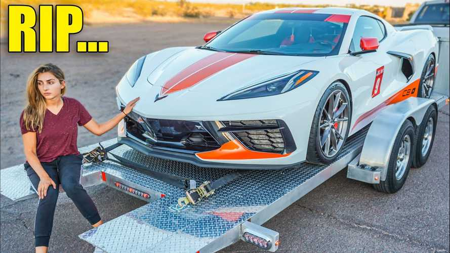 Watch Twin-Turbo 2020 Corvette Owner Go Too Far, Crack Piston In Half