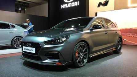 Hyundai i30 N Project C, a Francoforte la potenza si mette a dieta