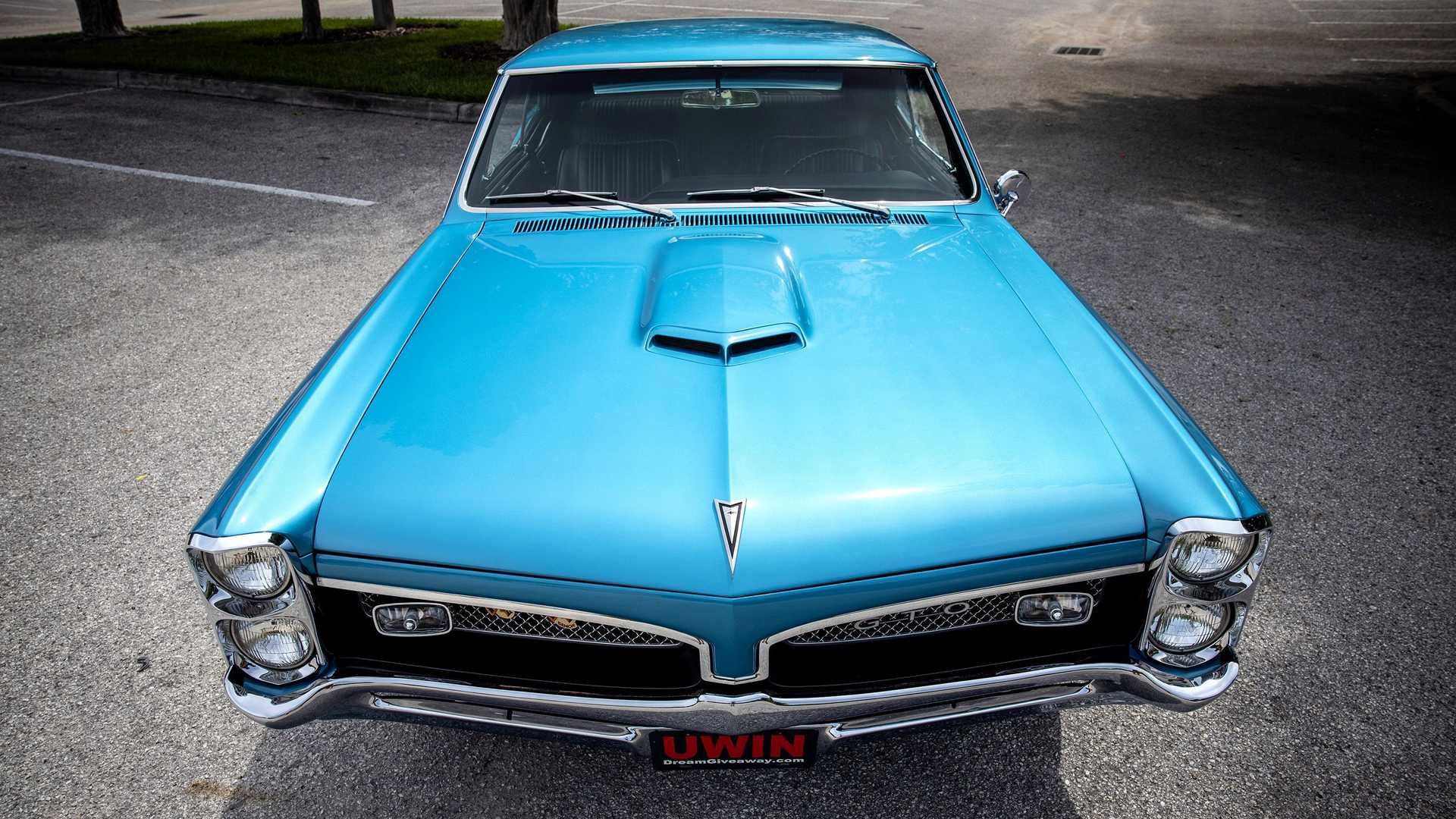 Enter Now To Win This Beautifully Restored 1967 Pontiac GTO Muscle Car