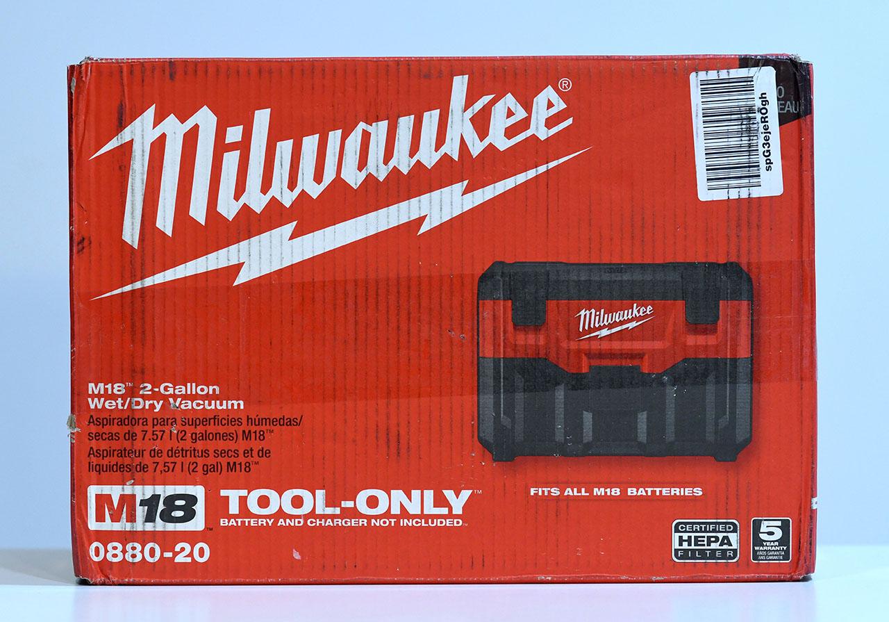 Milwaukee 0880-20 Vacuum box