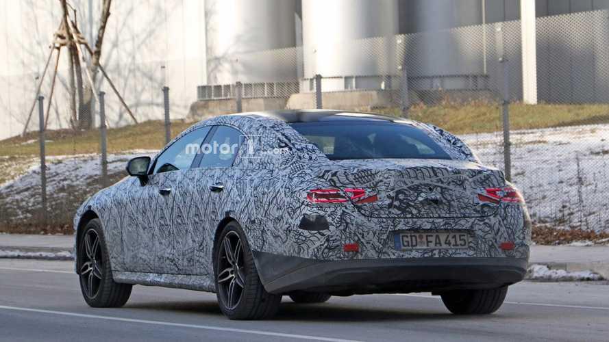 2018 Mercedes CLS spy photo