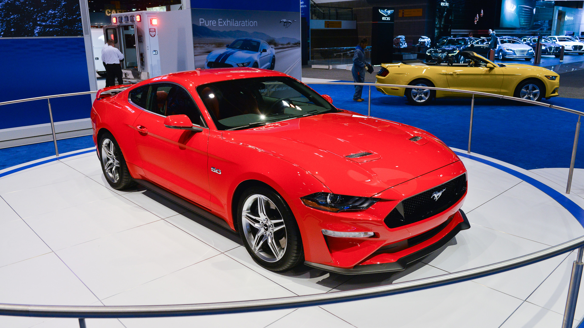 Ford Mustang Looks Like Pony Car Perfection In Chicago - Ford show car