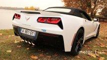 Corvette arrière droit