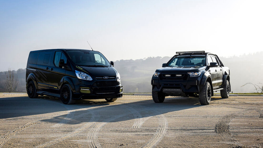 VIDÉO - Des Ford Transit et Ranger séries spéciales Valentino Rossi