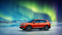 2017 Volkswagen Tiguan seven-seat model for China