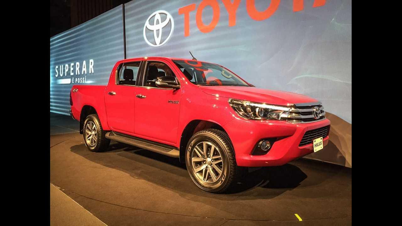 Toyota Apresenta Nova Hilux 2016 Para O Brasil Veja Versoes E Precos