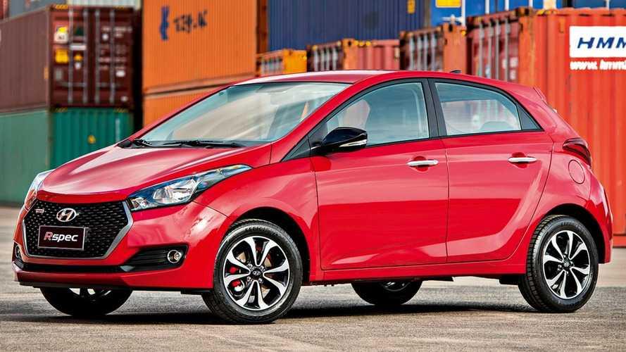 Populares mais vendidos – Hyundai HB20 tem pior resultado em mais de quatro anos