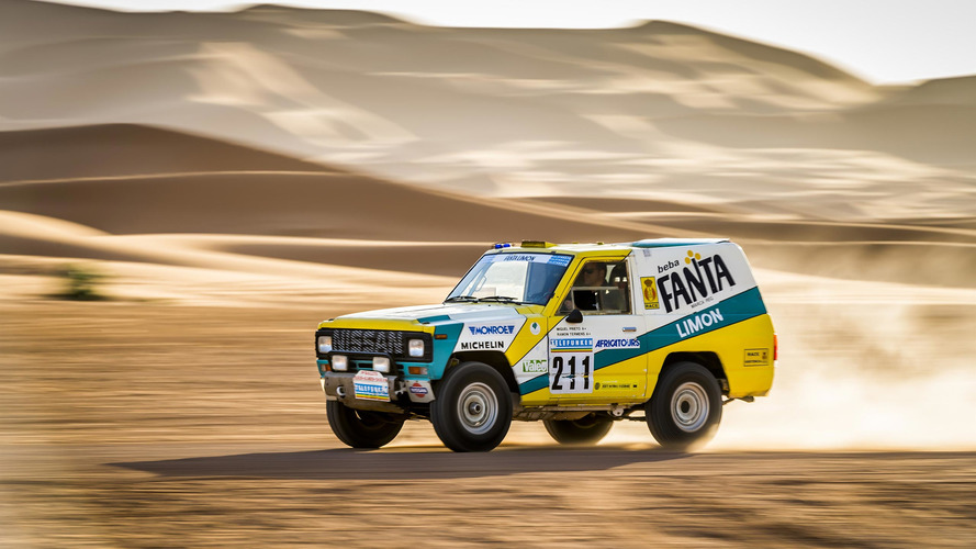 Important Nissan Patrol Dakar racer restored, taken back to desert