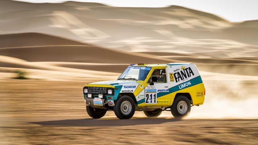 Important Nissan Patrol Dakar racer restored, taken back to desert