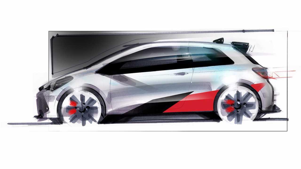 Toyota Yaris Gazoo sketch