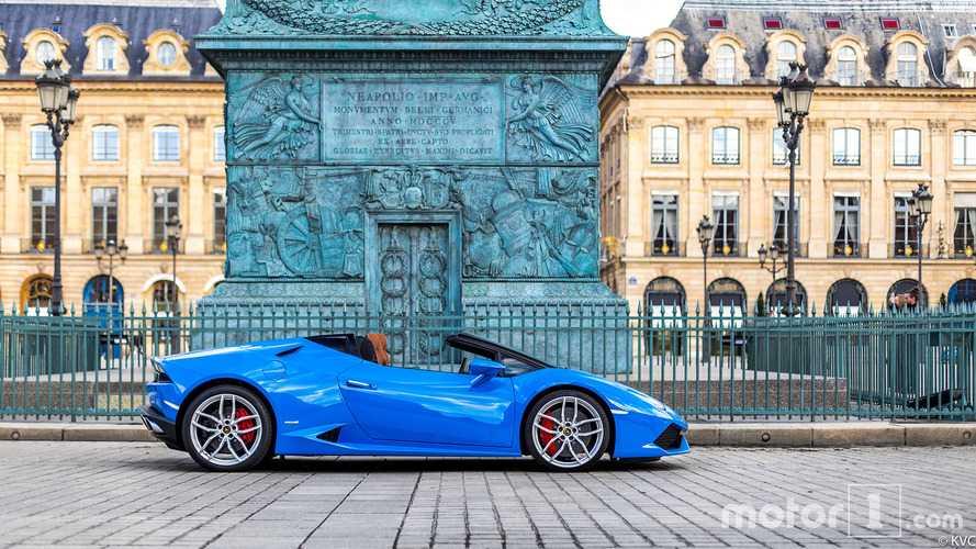KVC - Lamborghini Huracan Spyder place Vendôme