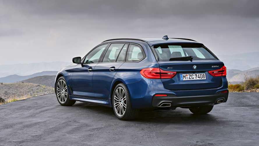 BMW 5 Serisi Touring Cenevre'de yüzünü gösterdi