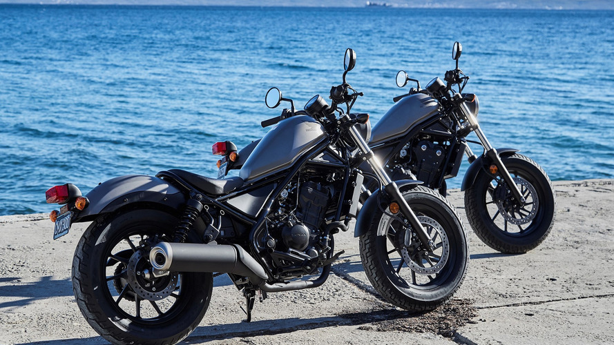 Honda targets the hip with new Rebel models