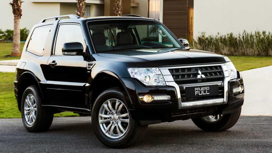 Mitsubishi Pajero Full tem fim anunciado para 2021, sem deixar sucessor