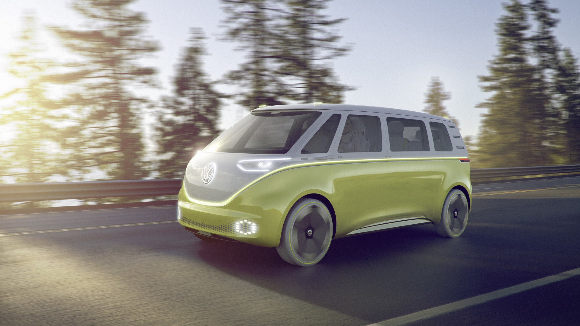 VW I D  Buzz concept foretells an electric, autonomous Microbus