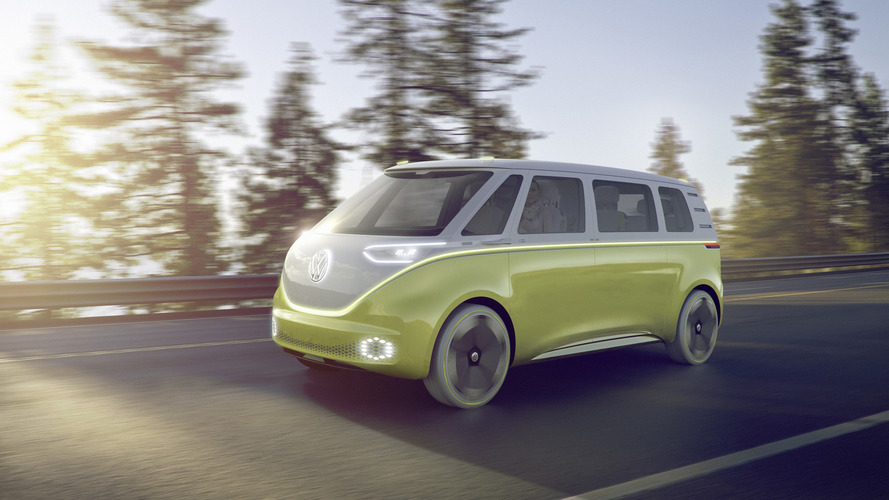 VW I.D. Buzz concept foretells an electric, autonomous Microbus