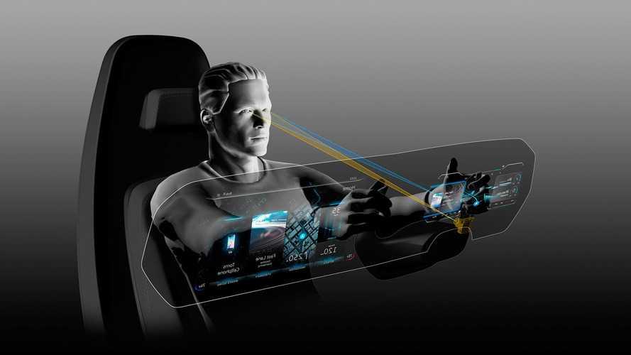 VW'nin dijital kokpit konseptinde 3 boyutlu göstergeler yer alıyor