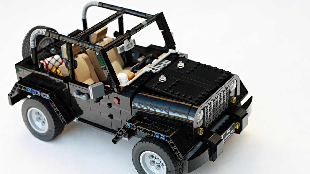 Jeep Wrangler Rubicon Lego