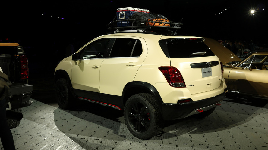 Chevy Trax Active Concept Arrives At Sema With Extra Off Road Prowess