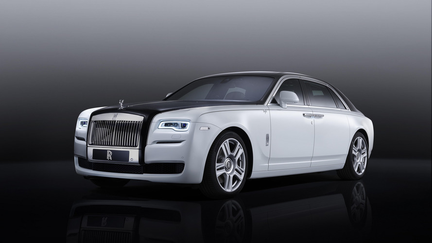 2016 Rolls-Royce Ghost Inspired by Greats