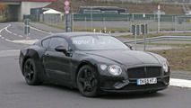Bentley Continental GT et GTC 2018 photos espion