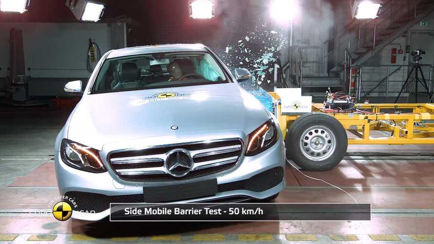 VIDÉO – La Mercedes Classe E et la Fiat Tipo passent les crash-tests