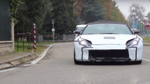 Ferrari F12 successor spy