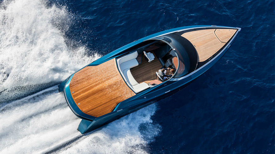 Aston Martin AM37S Speedboat Hits The Waves In Monaco