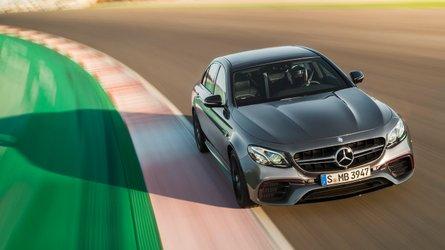 2017 Mercedes-AMG E65 S 612 bg'lik motoruyla kameralara kükrüyor