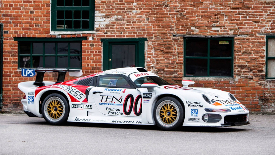 Vend Porsche 911 GT1 ex-Le Mans, prête à prendre la route