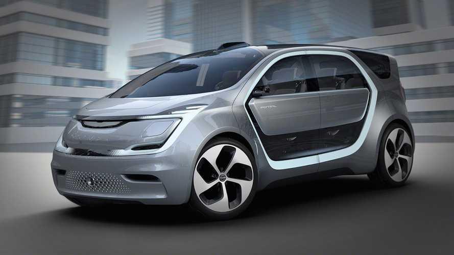Chrysler Portal Concept reconhece seu rosto e te leva para casa