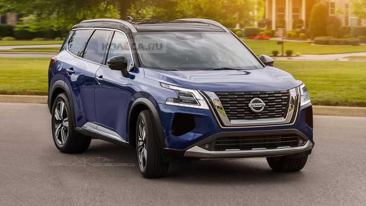 Yeni 2021 Nissan Pathfinder Hayali Tasarımı (Render)