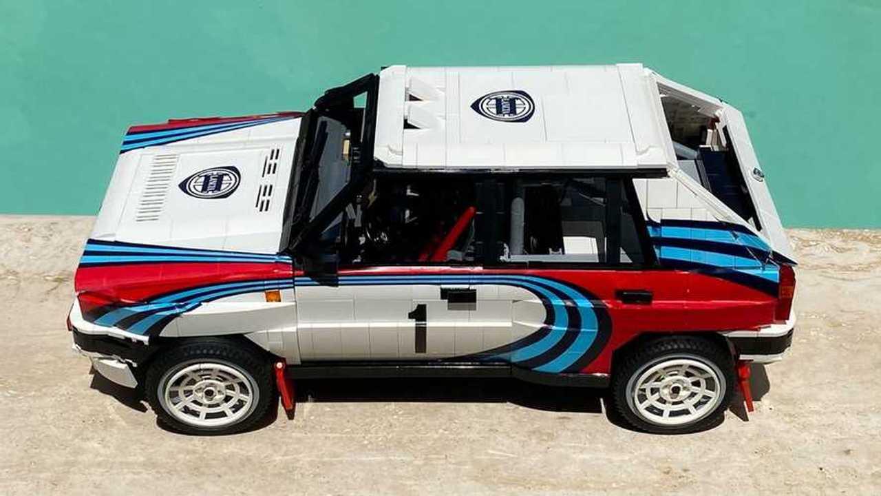 Lancia Delta Integrale Lego Ideas