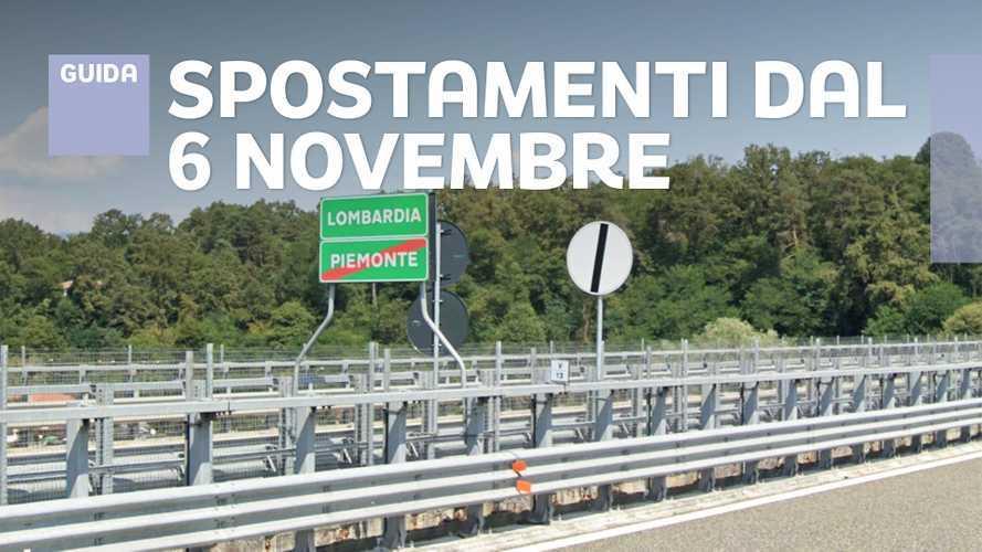 Nuovo DPCM, cosa cambia dal 6 novembre per gli spostamenti in auto