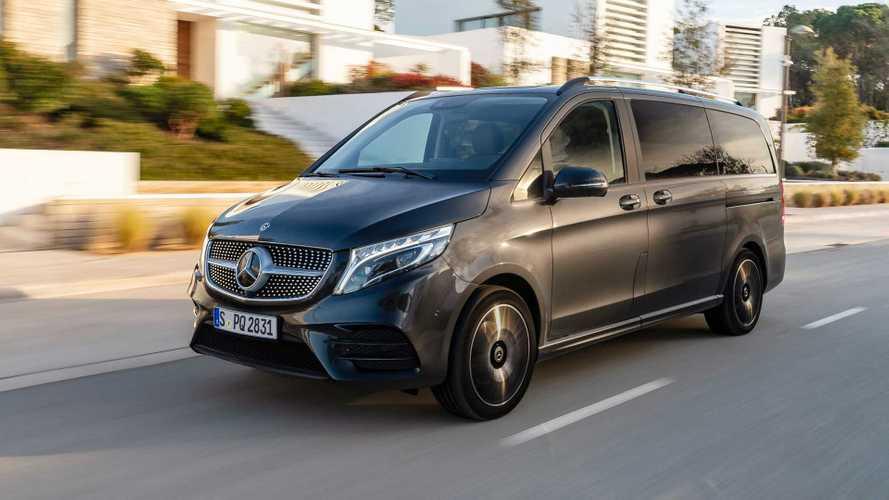 Mercedes V-Klasse (2021): Transporter jetzt auch mit Luftfederung Airmatic