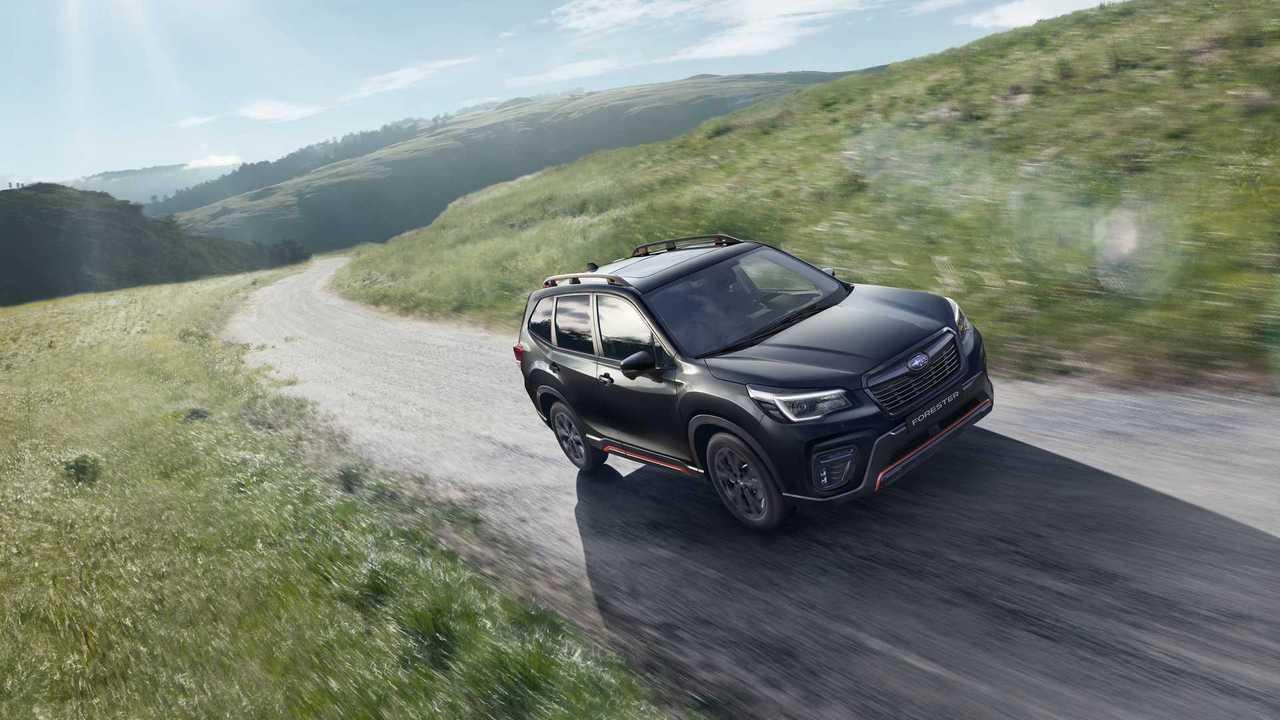 Subaru Forester Sport для России (2020), экстерьер