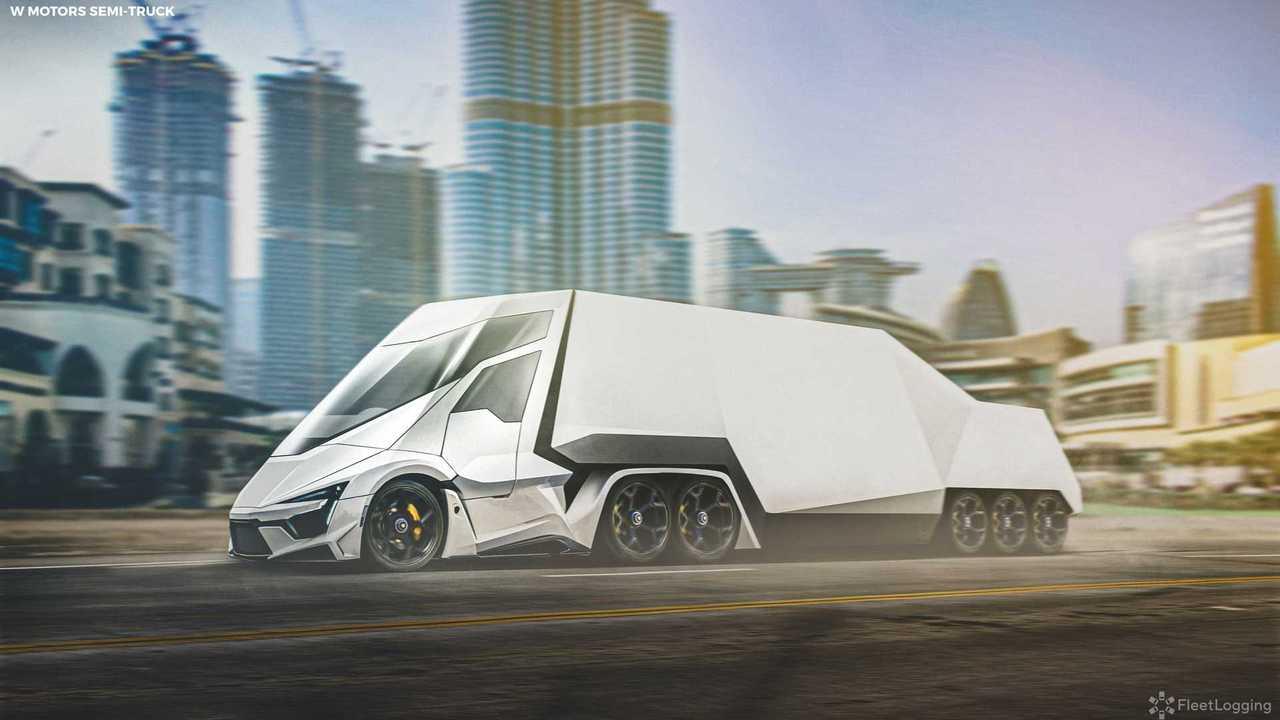 W Motors Supertruck