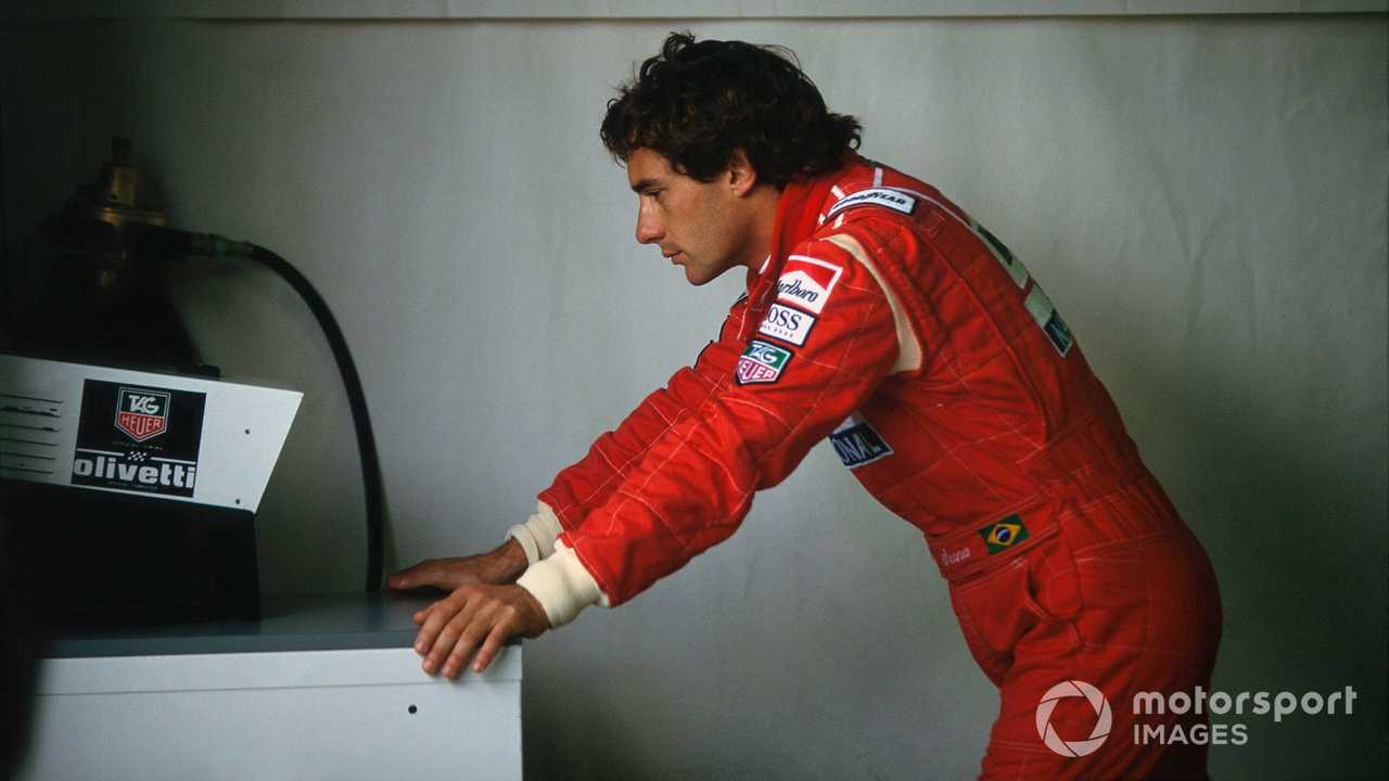 Ayrton Senna at Canadian GP 1993