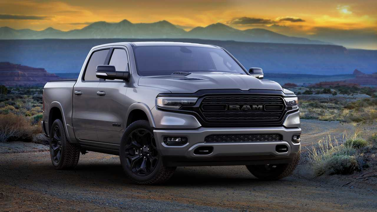 2021 Ram 1500 Limited Night Edition Exterior Front Quarter