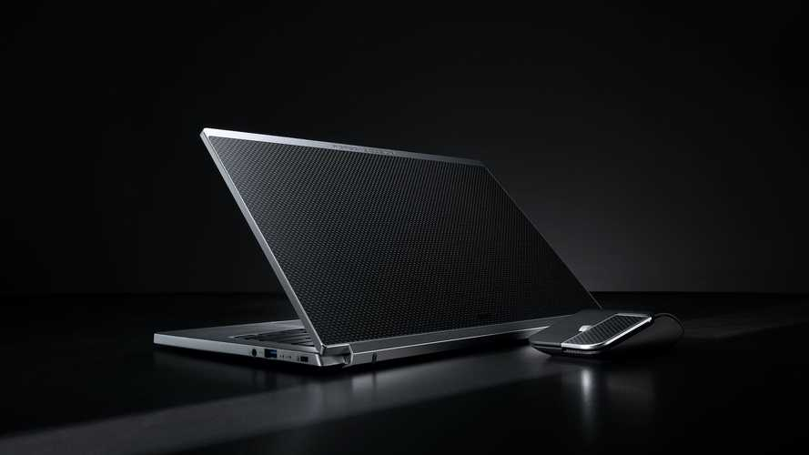 Fancy Acer Book RS By Porsche Design Comes With Carbon Fiber Cover