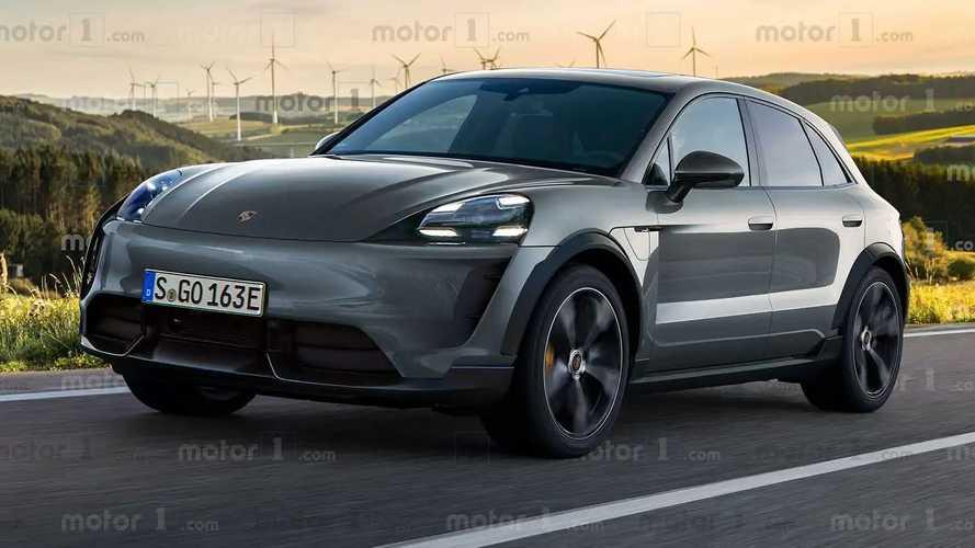 Электромобиль Porsche Macan опередит Taycan по запасу хода