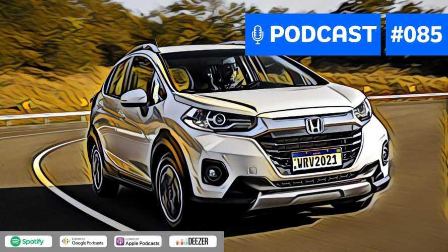 Motor1.com Podcast #85: Novo Honda WR-V 2021, qual seu papel no mercado?