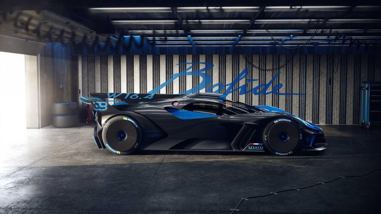 Bugatti Bolide, профиль
